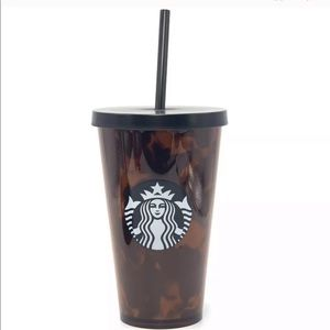 Starbucks limited tortoise (leopard) print 16oz